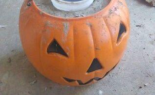 diy concrete pumpkins, concrete masonry, halloween decorations