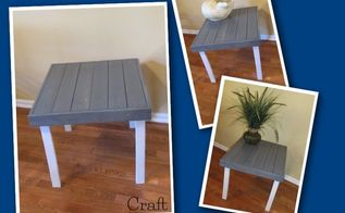 furniture makeover kids table to coastal table garbage to gorgeous, painted furniture, AFTER