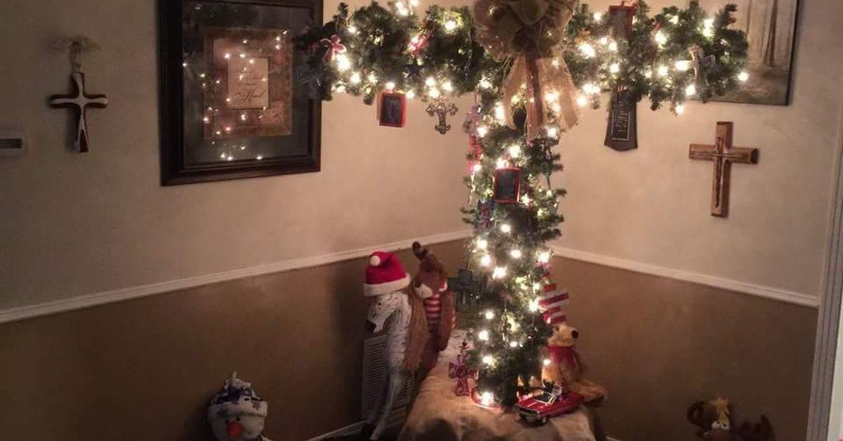 Christmas Tree Cross For Christmas Hometalk