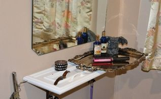vanity on a budget a tiny budget, bathroom ideas, bedroom ideas