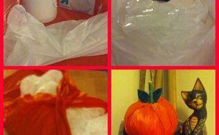 toilet paper roll pumpkins, crafts