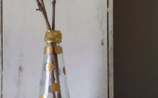 repurposed sauce bottle diy, crafts, decoupage