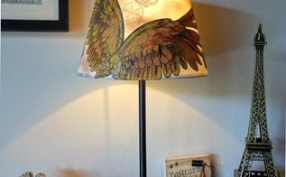 decorate a lampshade, crafts, home decor, lighting, reupholster, window treatments, windows