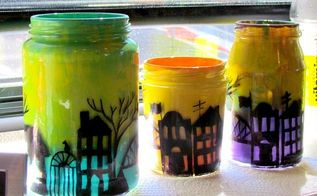 city skyline luminaries, crafts, home maintenance repairs, ponds water features