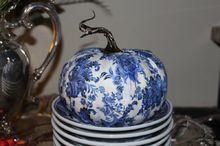 designing an elegant faux pumpkin, crafts, decoupage, repurposing upcycling, reupholster