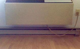 q want to make a removable cover for a in the wall heat ac pump , hvac, wall decor, Heat at pump mounted in wall