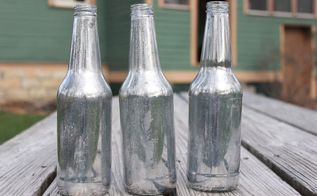 diy mercury bottles, christmas decorations, crafts, how to