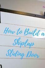 how to build and install a barn door, doors, how to, outdoor living
