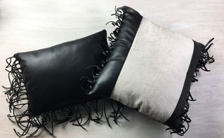 leather fringe pillows, bedroom ideas, go green, home decor, home improvement, living room ideas, outdoor living, pallet, tools, reupholster
