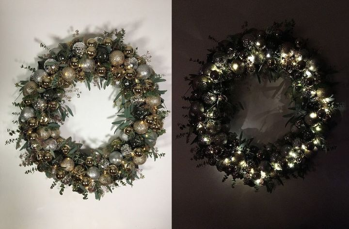 Ornament Wreath Christmas Decorations Crafts Home Decor Lighting Seasonal Holiday Decor