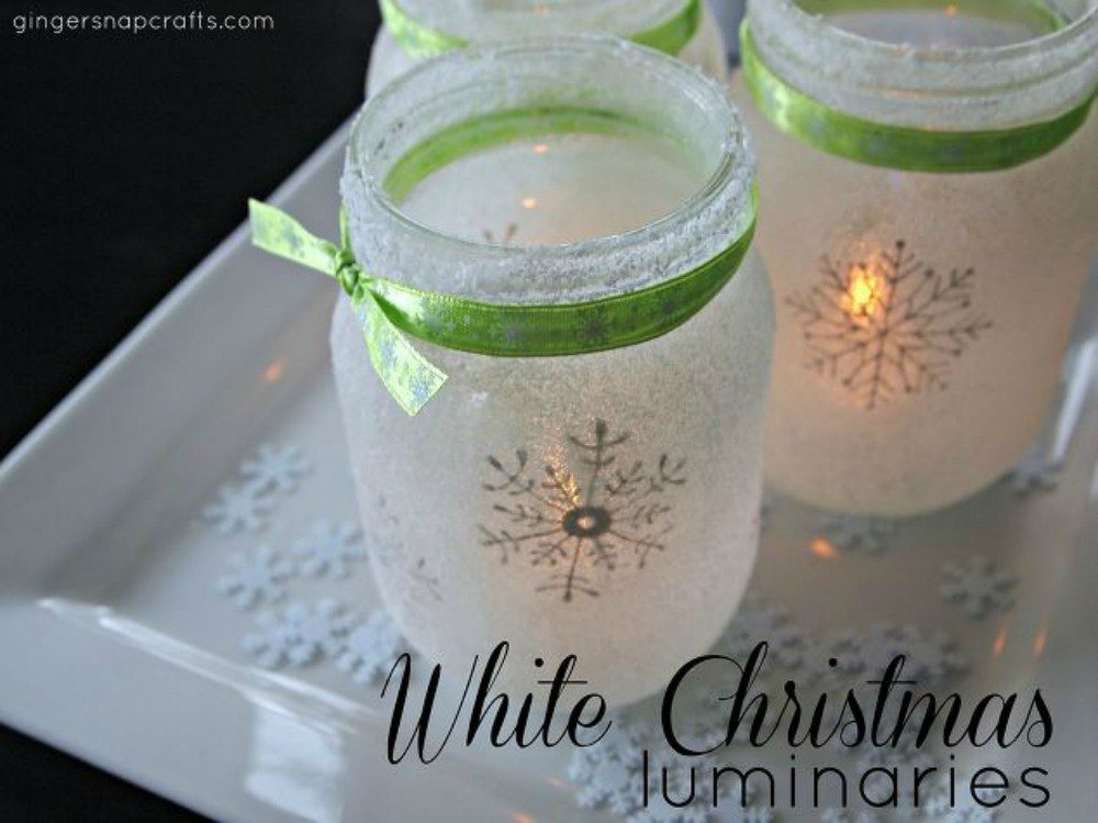 Christmas Decorating Ideas For Glass Jars : Don t throw out that glass jar before you see these