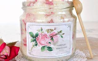 diy rose petal lavender sugar scrub the perfect diy gift , flowers, gardening