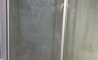 q shower glass doors, cleaning tips, house cleaning