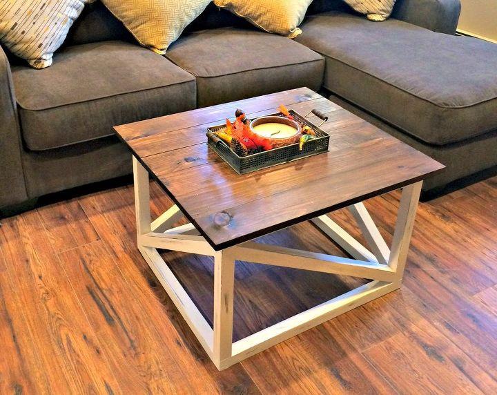 Diy Coffee Table Basement Ideas Living Room Painted Furniture Rustic