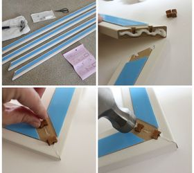 Diy Mirror Frame Kit Simple Bathroom Decor, Bathroom Ideas, Home Decor