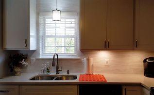 re purpose left over blind slats, countertops, home decor, kitchen backsplash, kitchen cabinets, kitchen design, painting