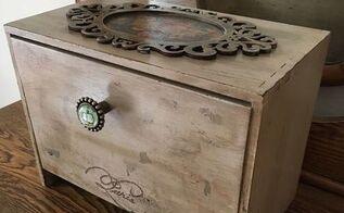 french storage box, storage ideas, Finished