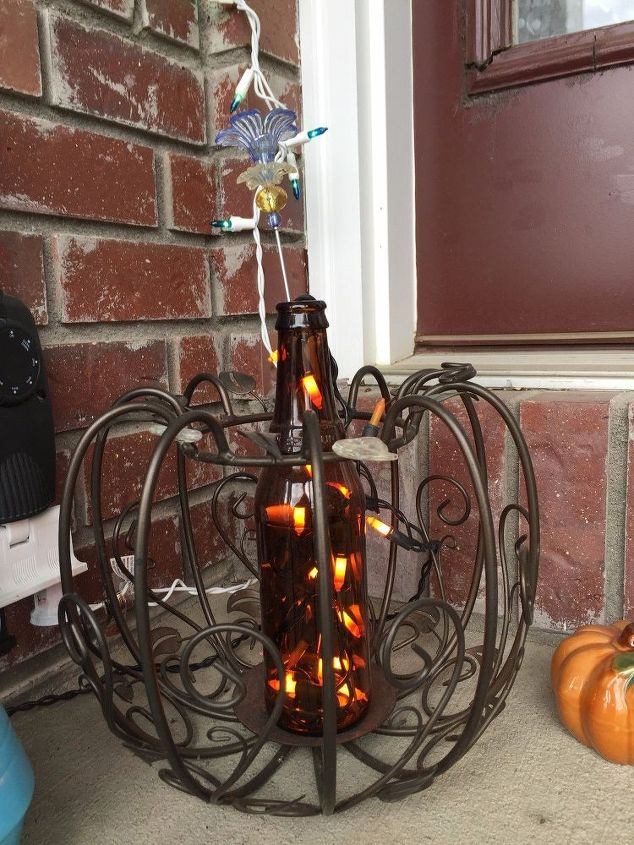 from candle holder to solar holder plus 2nd option crafts halloween decorations home - Solar Halloween Decorations