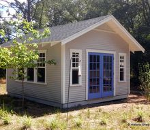 balanced artist shed, outdoor living