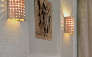 how to make a wall lamp sconce , home decor, how to, lighting, wall decor