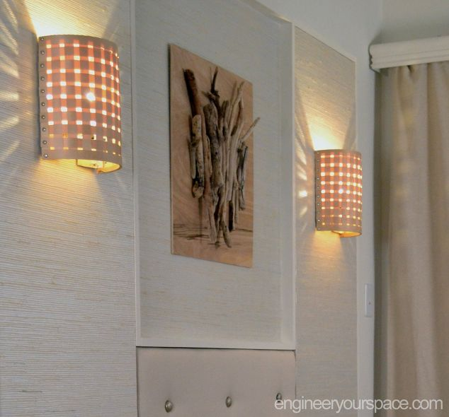 How to Make a Wall Lamp (sconce) Hometalk