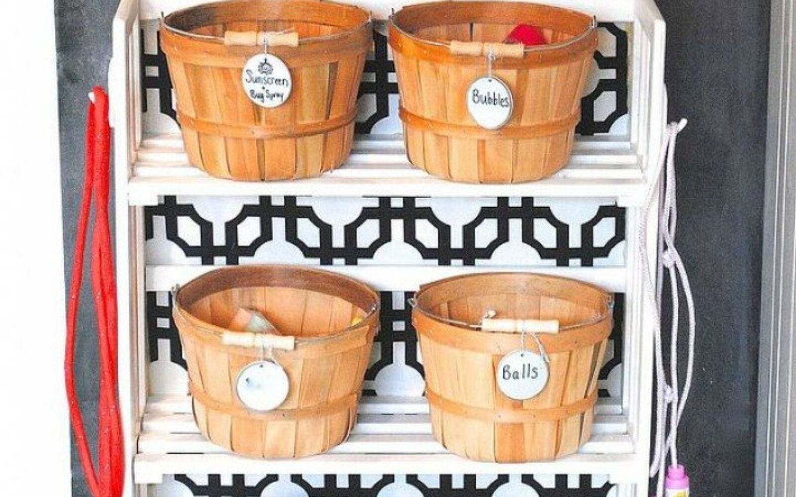 s 11 amazing toy storage ideas from highly organized moms, organizing, storage ideas, Fill a small bookcase with baskets