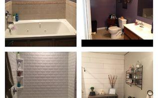 master bathroom update on a budget, bathroom ideas