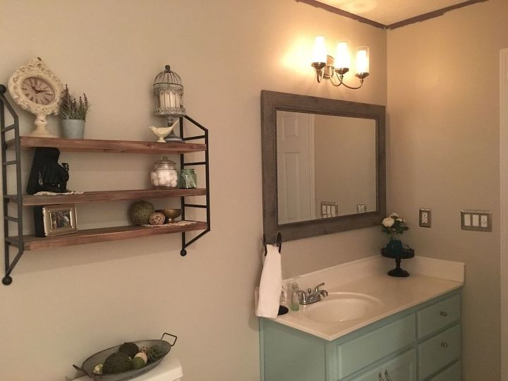 Master bathroom update on a budget hometalk for Updating bathroom ideas