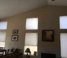 q need to install blinds or shutters ourselves , home decor, window treatments, This is the den other rooms have bigger picture windows