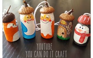 dwarf and the company handmade christmas ornaments, christmas decorations, seasonal holiday decor