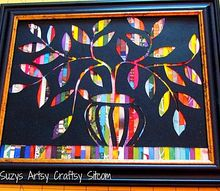 how to make beautiful art with magazines , crafts, how to