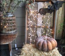 halloween porch 2016, halloween decorations, seasonal holiday decor