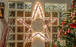 diy lighted christmas stars, christmas decorations, crafts, flooring, halloween decorations, home decor, lighting, painted furniture, painting, pallet, pest control, repurposing upcycling, seasonal holiday decor