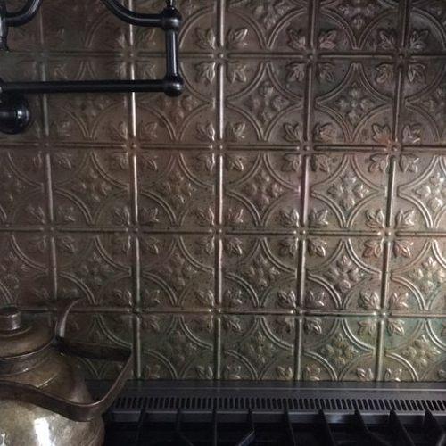 Can you paint backsplash tile