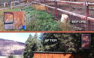 fall project living the real country life, fences, outdoor living