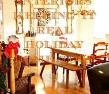 keeping it real holiday home tour, home decor, seasonal holiday decor