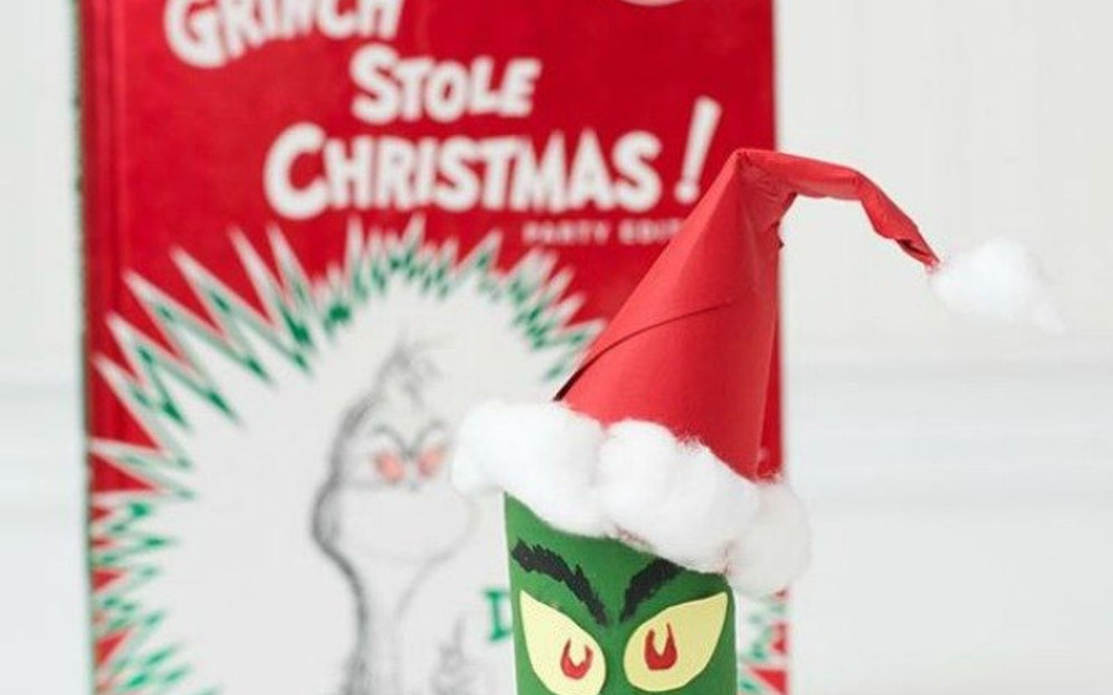 s cut up cardboard for these breathtaking christmas ideas, christmas decorations, Paint them into the Grinch