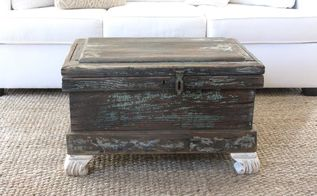 help for a termite infested trunk, chalk paint, pest control, repurposing upcycling, shabby chic, woodworking projects