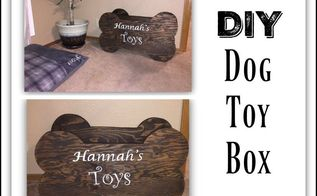 diy wooden toy box for dog toys, crafts, entertainment rec rooms, flooring, laundry rooms, painting, pets animals, woodworking projects
