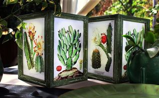 dollar store frame lanterns, crafts, home decor, lighting, living room ideas, outdoor living