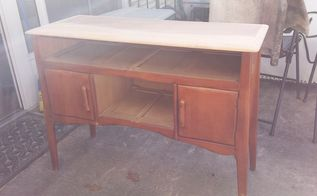 let s go primitive , kitchen design, kitchen island, outdoor living, painted furniture, rustic furniture, woodworking projects