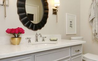 budget friendly bathroom makeover, bathroom ideas, small bathroom ideas