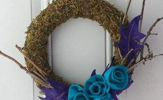 Craft Moss Wreath Diy Crafts Home Decor Wreaths