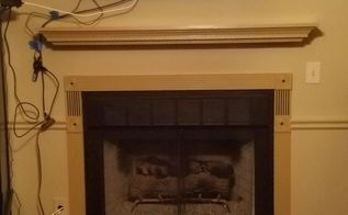 is this the same fireplace optical illusion with simple paint, fireplaces mantels