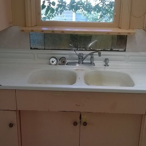 old kitchen sink. kitchen sinks italian journey reviewedthe