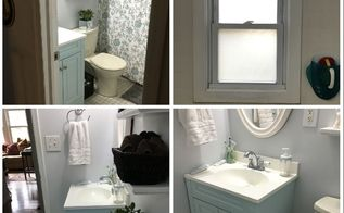 low budget bathroom makeover phase 1 , bathroom ideas, go green, plumbing