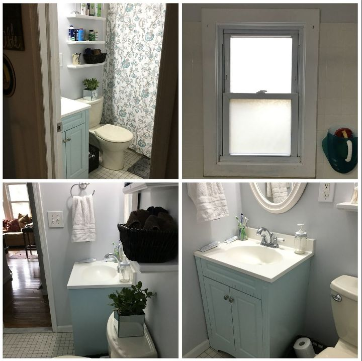 Low budget bathroom makeover phase 1 hometalk for Bathroom ideas on a low budget