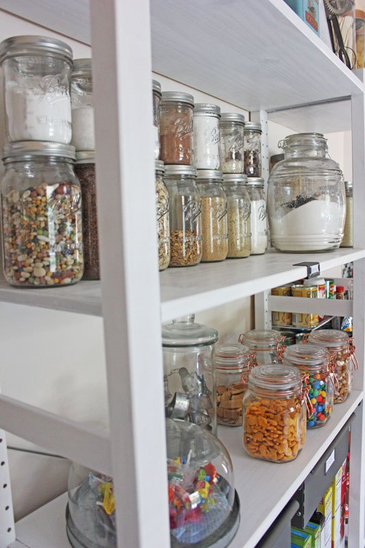 Create An Open Shelving Pantry With Ikea Shelves