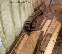 covering walls with pallet wood the basement bathroom renovation, basement ideas, bathroom ideas, pallet