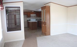 the single wide mobile home living room makeover, home decor